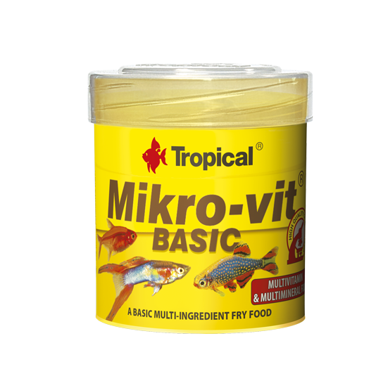 Tropical mikrovit basic 50ml nourriture de base pour for Tropical nourriture poisson