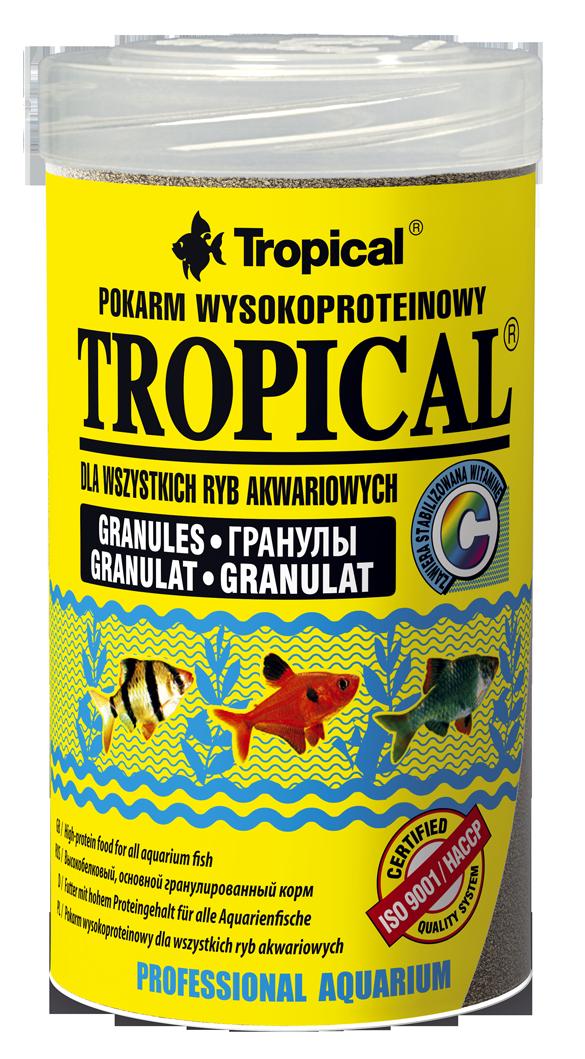 Tropical tropical granulat 100ml nourriture de base granul e riche en prot ines nourritures - Produit riche en proteine ...