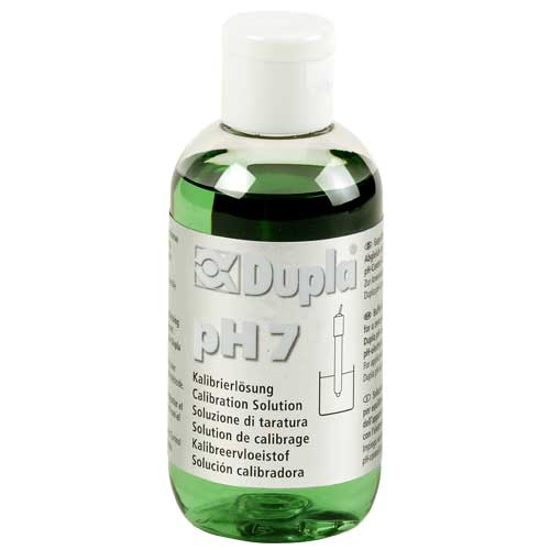 DUPLA Solution pH 7 100 ml solution d\'étalonnage pour électrodes pH