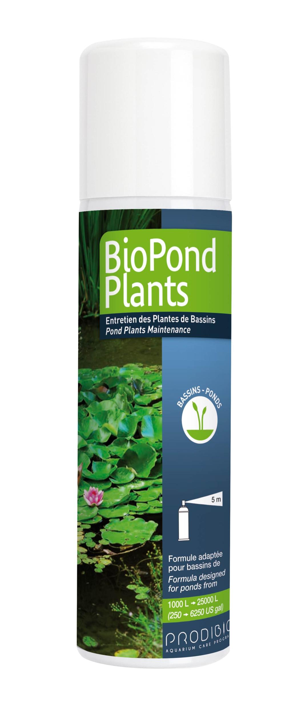 PRODIBIO BioPond Plants 125 ml engrais sans nitrate ni phosphate pour les végétaux des bassins