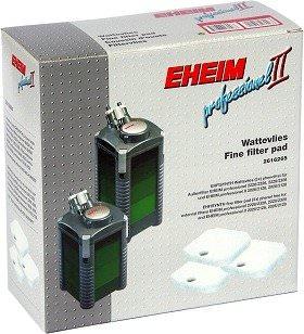 EHEIM Set 3 coussins de d\'ouate pour filtre Professionel 2 2026, 2126, 2028, 2128, 2226, 2228 et eXpérience 2426