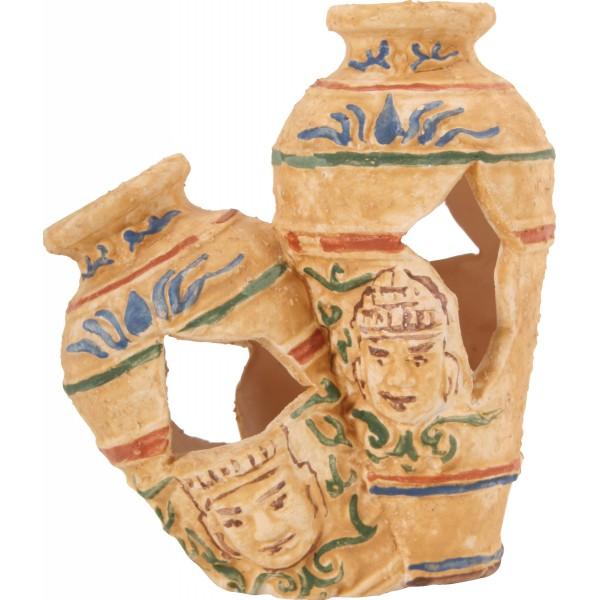 Décoration pour aquarium 2 poteries Egyptiennes