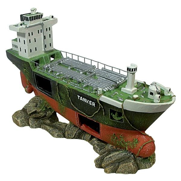 Pave de bateau tanker 29 cm pour la d coration de votre for Accessoire aquarium