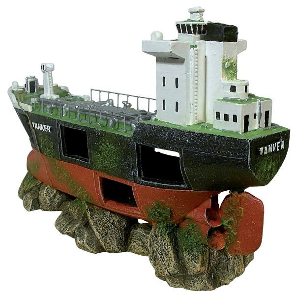 Pave de bateau tanker 29 cm pour la d coration de votre aquarium d coratio - Decoration de bateau ...