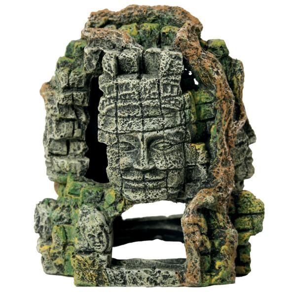 Décoration pour aquarium Angkor Tour 4 faces taille S