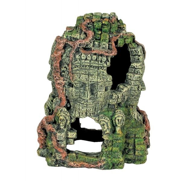 Décoration pour aquarium Angkor Tour 4 faces taille L
