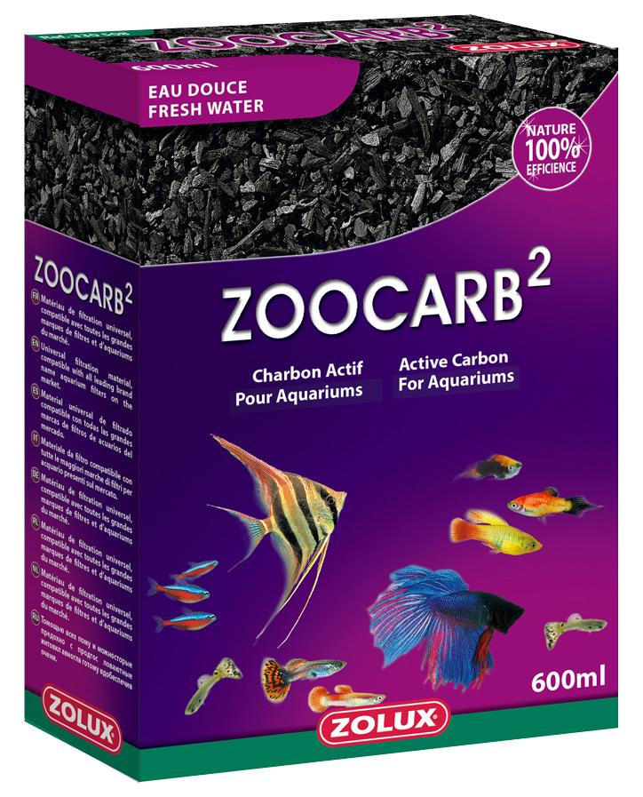 Charbon de filtration ACTIZOO ZooCarb 2 600 ml absorbe les substances polluantes de l\'eau
