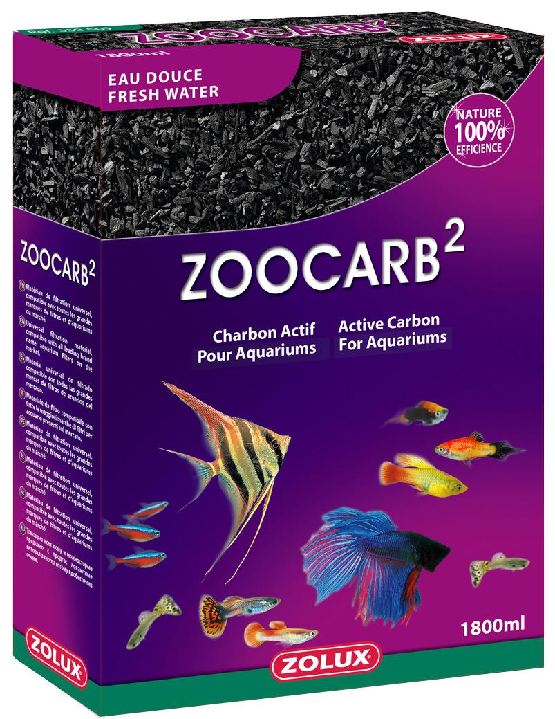 Charbon de filtration ACTIZOO ZooCarb 2 1,8 L absorbe les substances polluantes de l\'eau