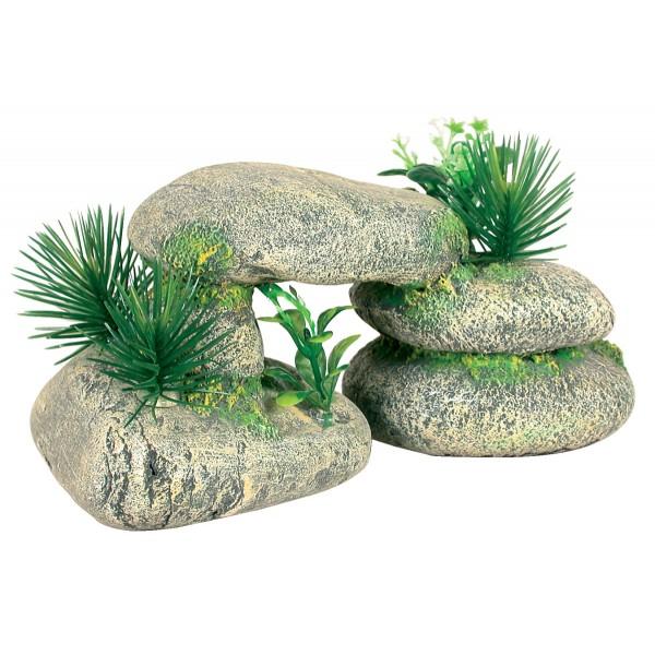 D coration pour aquarium galets dolmen 20 cm d corations pour aquarium d corations diverses - Decoration pour aquarium ...