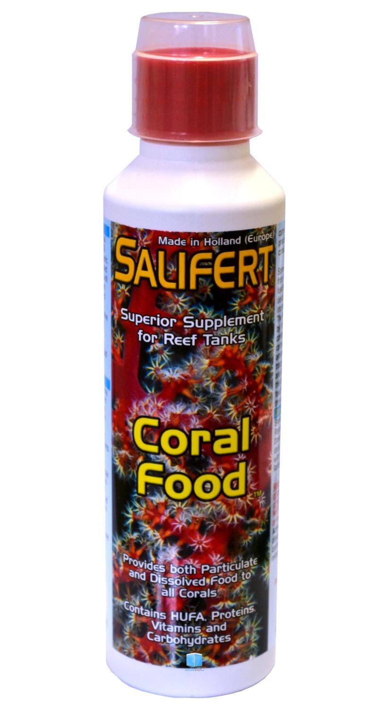 SALIFERT Coral Food 250 ml aliment liquide complet pour tous coraux et organismes vivants de l\'aquarium récifal