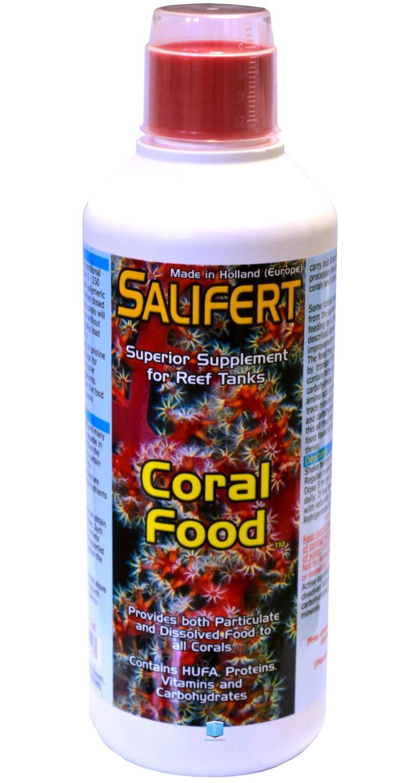 SALIFERT Coral Food 500 ml aliment liquide complet pour tous coraux et organismes vivants de l\'aquarium récifal