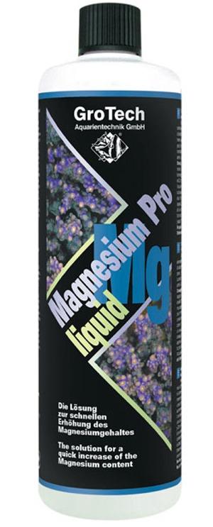 GROTECH Magnesium Pro Liquid 1000 ml augmente rapidement la concentration de magnesium en cas de carence