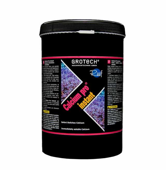 GROTECH Calcium Pro Instant 1 Kg poudre de Calcium à dissolution rapide