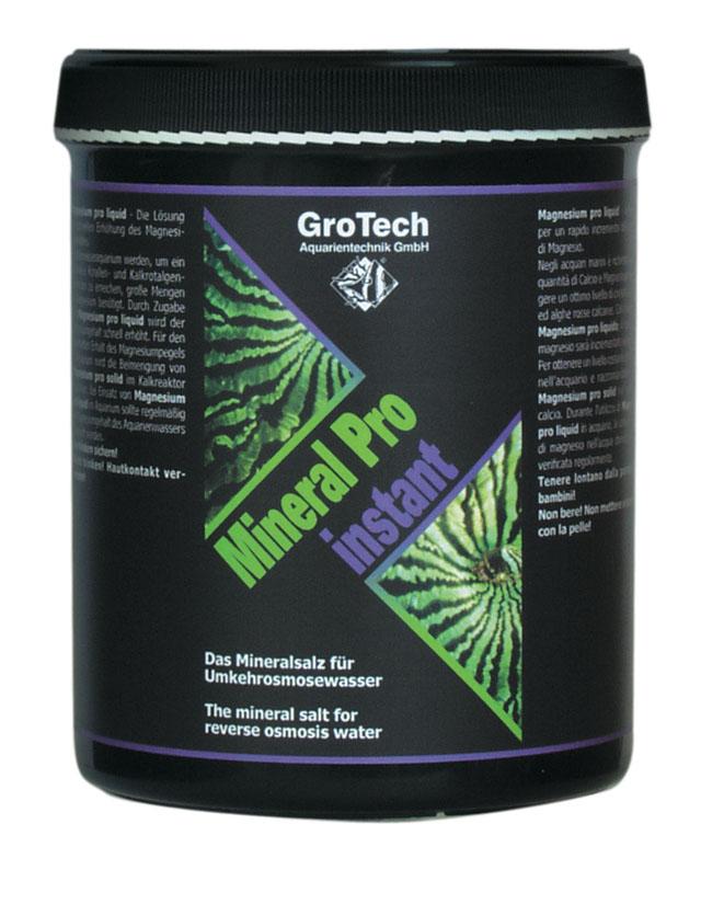 GROTECH Minéral Pro Instant 1 Kg sels minéraux pour la reminéralisation de l\'eau osmosée