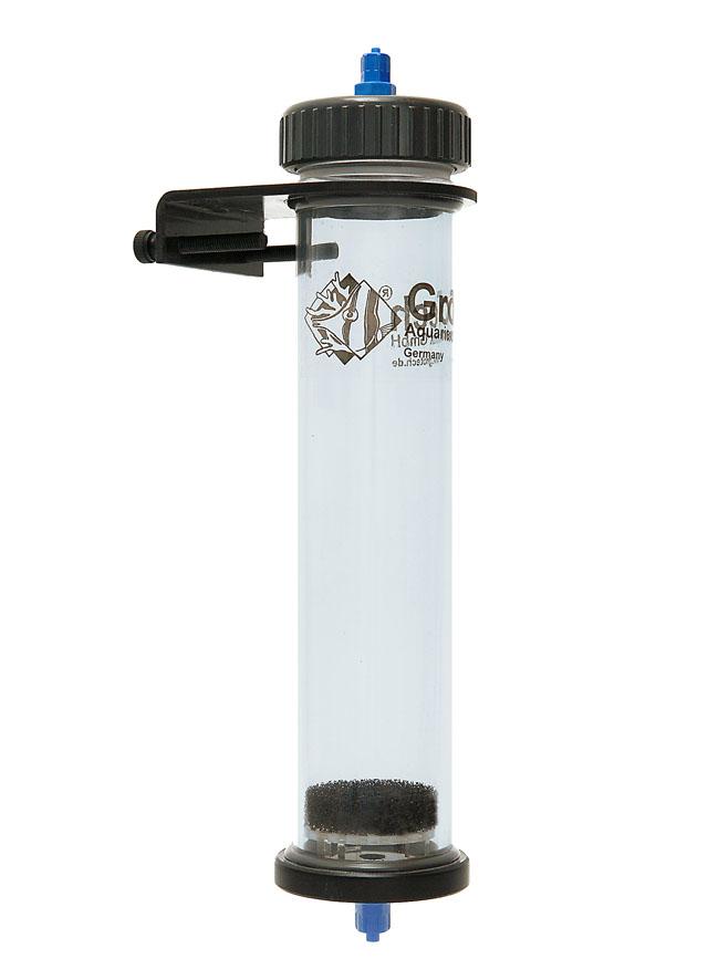 GROTECH UF-070 filtre à lit fluidisé universel 800 ml pour charbon, résines et Bio-Pellets