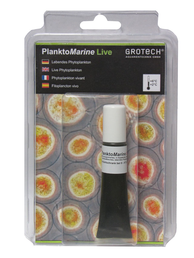GROTECH PlanktoMarine Live 20 ml nourriture de Phytoplanctons concentrée pour coraux, coquillages et invertébrées