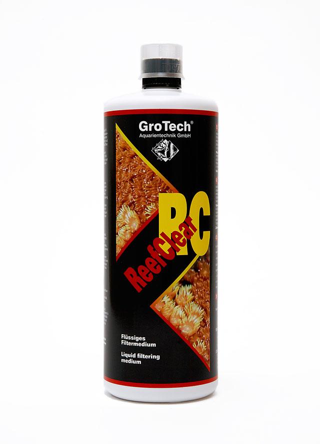 GROTECH ReefClear RC 1000 ml agent de filtration colloïdale permettant de clarifier rapidement l\'eau de l\'aquarium