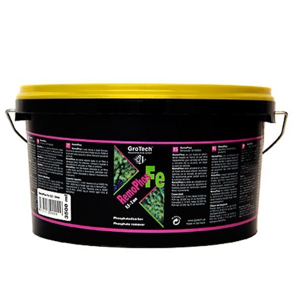 GROTECH RemoPhos FE 0,5 à 2 mm 3,5 L matériau de taille moyenne à base de fer pour l\'absorbtion des Phosphates