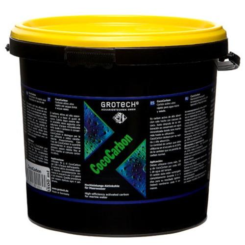 GROTECH CocoCarbon 3,5 L charbon actif très efficace fabriqué à partir de coques de noix de coco