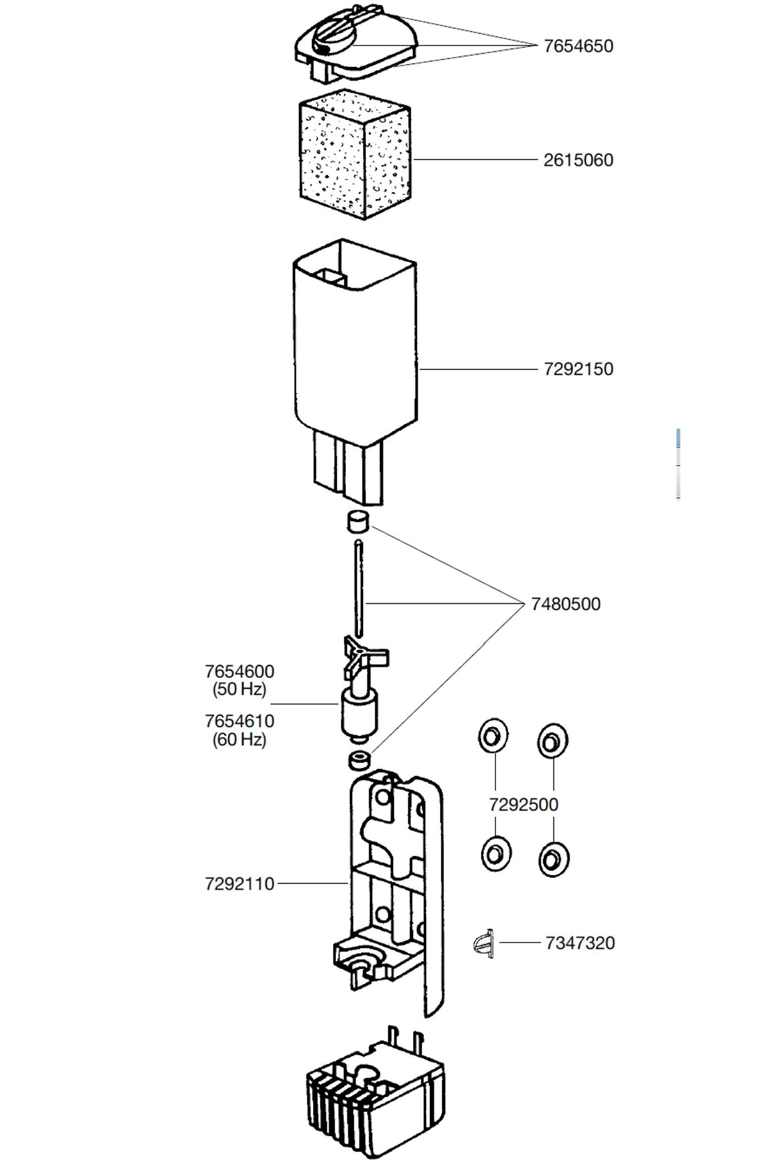 EHEIM Pièces détachées pour filtre Eheim PickUp 45 (2006)