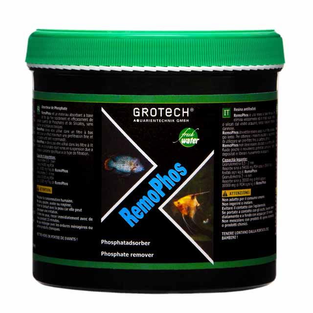GROTECH RemoPhos 1 L matériau anti-phosphate à base de fer pour aquarium d\'eau douce