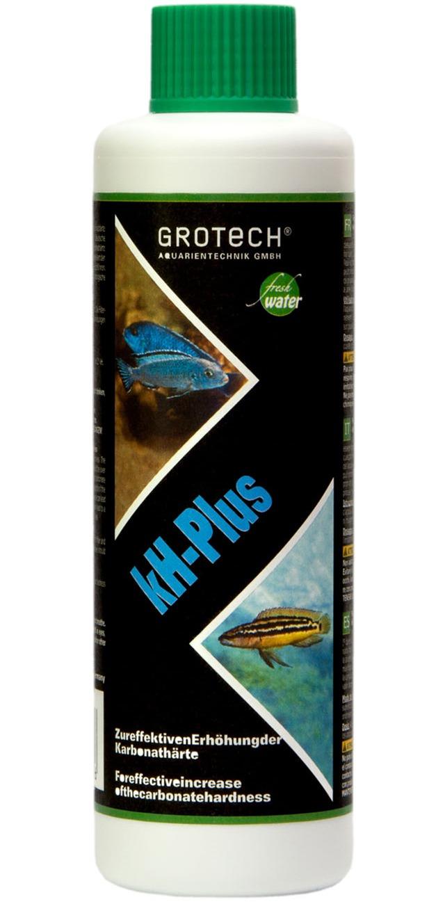 GROTECH kH-Plus 250 ml augmente la dureté carbonatée en aquarium d\'eau douce