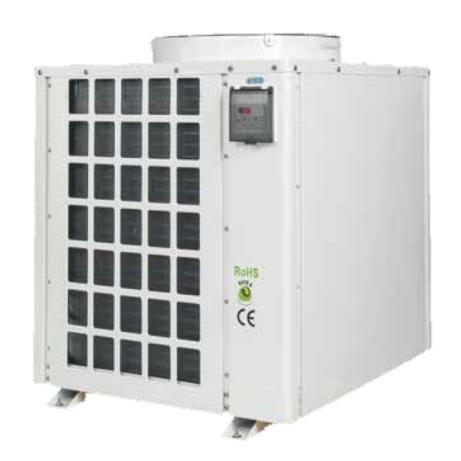 TECO TK5K groupe froid professionnel avec chauffage intégré pour aquarium et viviers jusqu\'à 5000 L
