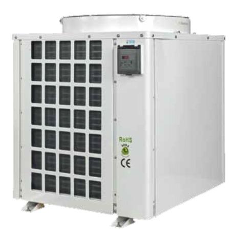 TECO TK8K groupe froid professionnel avec chauffage intégré pour aquarium et viviers jusqu\'à 8000 L