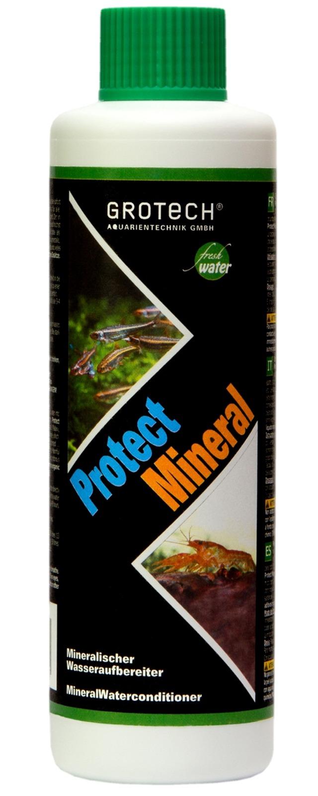 Grotech protect mineral 500 ml conditionneur d 39 eau pour for Aquariophilie en ligne