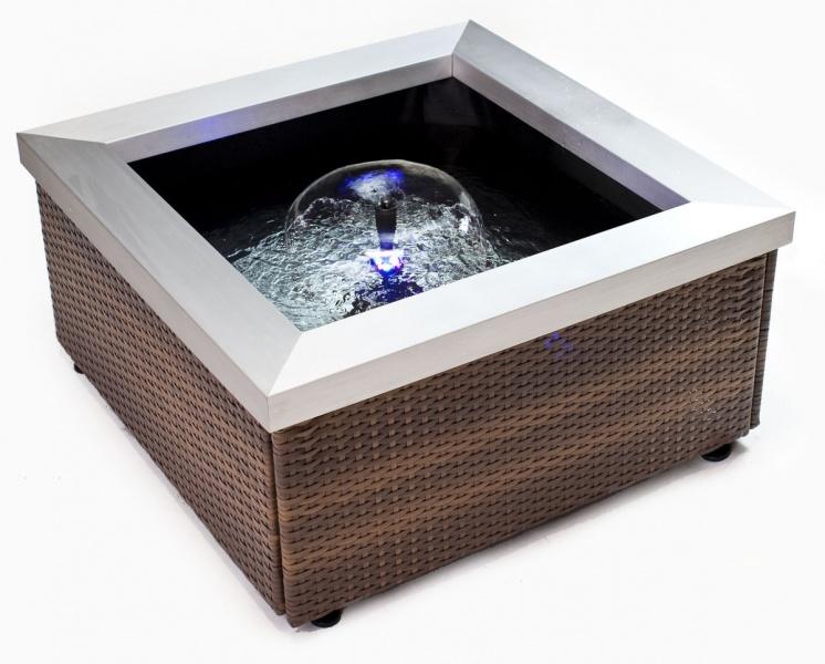 Theiling Bassin Lounge Pour Int Rieur Ou Terrasse Dimensions 77 5 X 77 5 X 40 Cm Bassins