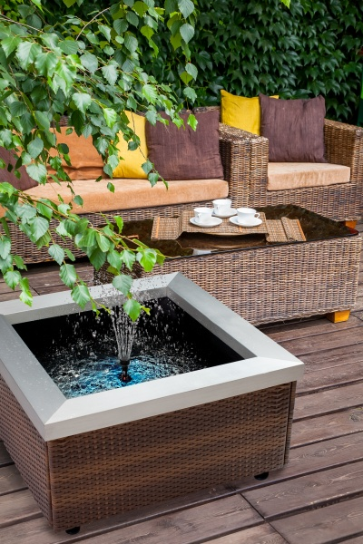 Theiling bassin lounge pour int rieur ou terrasse for Bassin pour terrasse