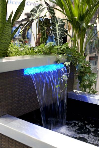 Theiling bassin lounge de luxe pour int rieur ou terrasse - Bassin fontaine pour terrasse colombes ...