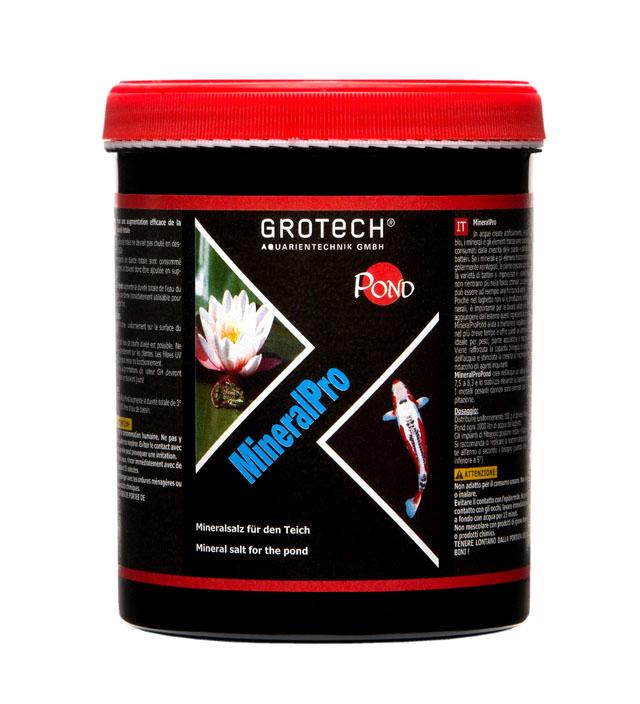 GROTECH MineralPro 1 Kg mélange de sels minéraux pour la reminéralisation de l\'eau des bassins. Traite jusqu\'à 10000 L