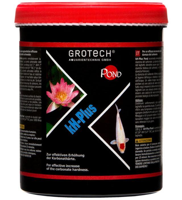 GROTECH kH-Plus 3 Kg augmente efficacement la dureté carbonatée dans l\'eau des bassins de jardin