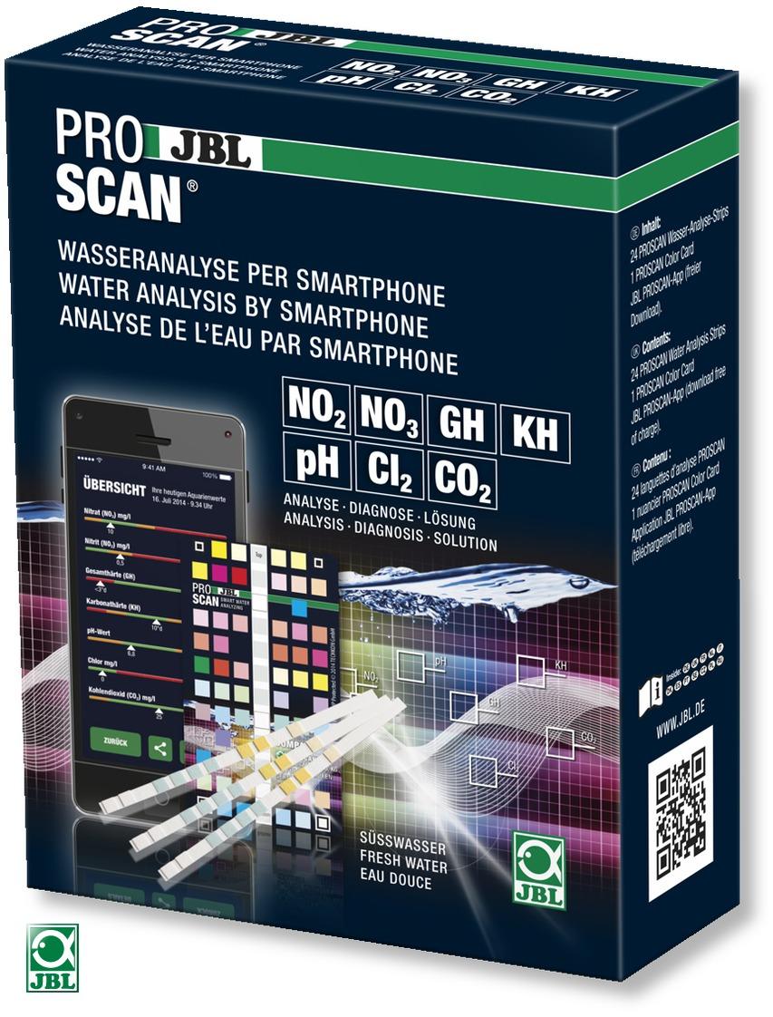 JBL ProScan kit de tests photométrique en bandelettes avec lecture des résultats par application Smartphone