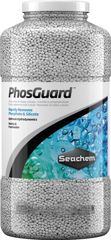 SEACHEM PhosGuard 1 L élimine rapidement les phosphates et silicates en aquarium d\'eau douce et d\'eau de mer
