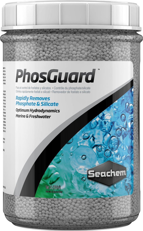 SEACHEM PhosGuard 2 L élimine rapidement les phosphates et silicates en aquarium d\'eau douce et d\'eau de mer