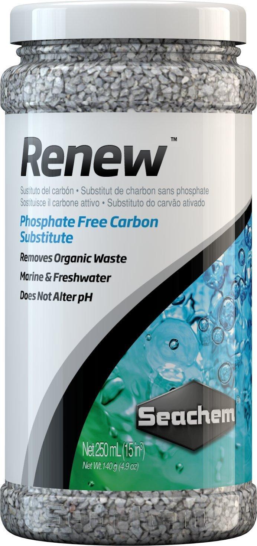 SEACHEM Renew 250 ml masse filtrante ayant les mêmes propriétés que le charbon actif mais sans aucun phosphate