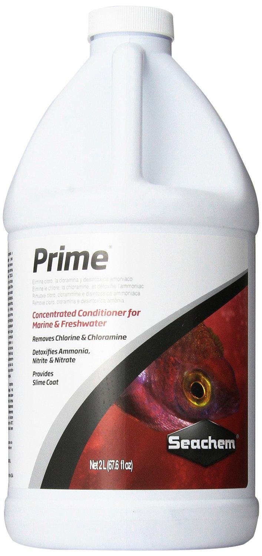 SEACHEM Prime 2 L conditionneur d\'eau complet pour aquarium d\'eau douce et d\'eau de mer