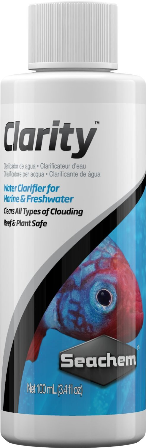 Seachem clarity 100 ml clarificateur de qualit pour une for Boutique aquariophilie