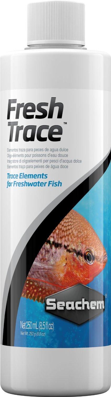 SEACHEM Fresh Trace compléments d\'oligo-éléments pour la bonne santé et la croissance des poissons d\'eau douce