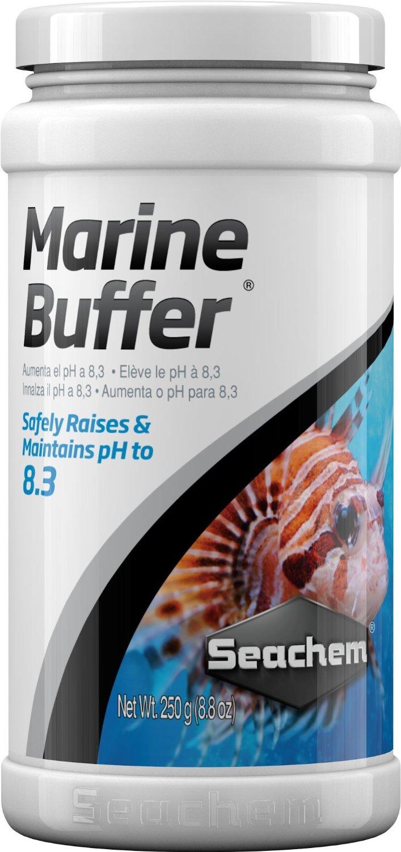 SEACHEM Marine Buffer 250 gr. stabilise le pH à 8.3 en aquarium marin