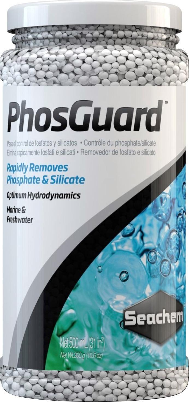 SEACHEM PhosGuard 250 ml élimine rapidement les phosphates et silicates en aquarium d\'eau douce et d\'eau de mer