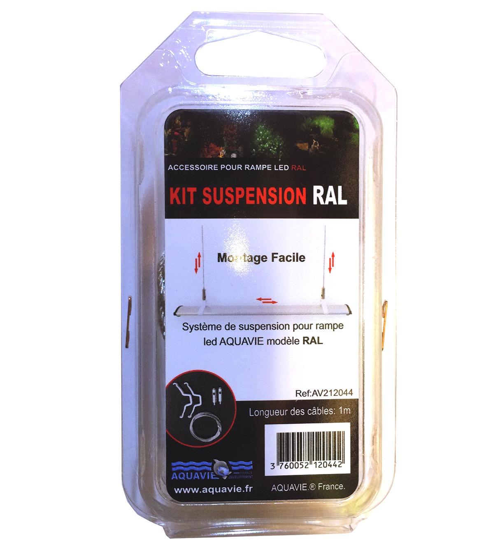 Kit de suspension pour rampe Leds Aquavie RAL et RAL G2