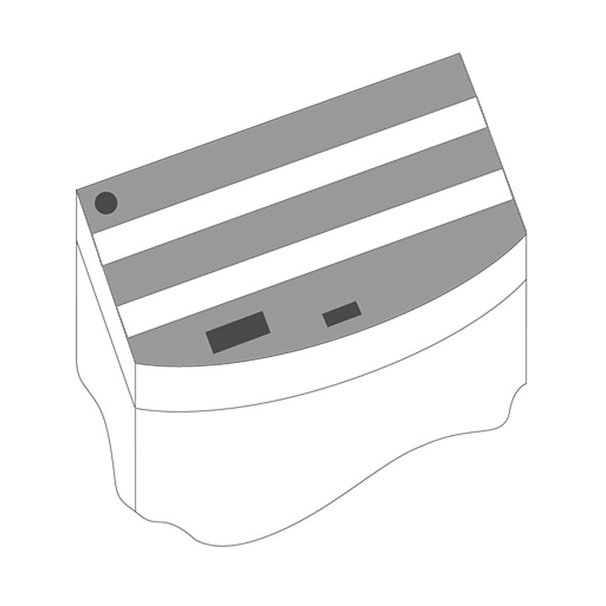 JUWEL Kit de volets de remplacement pour Aquarium Juwel Vision 450. Livré en 3 pièces