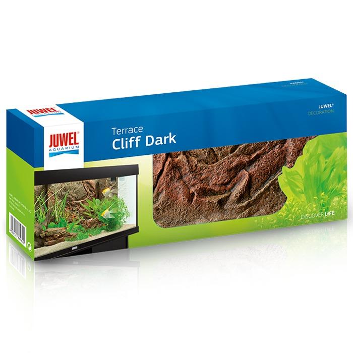 JUWEL Terasse Cliff Dark A 35 x 15 cm module incurvé vers l\'extérieur pour la conception de terrasses en aquarium