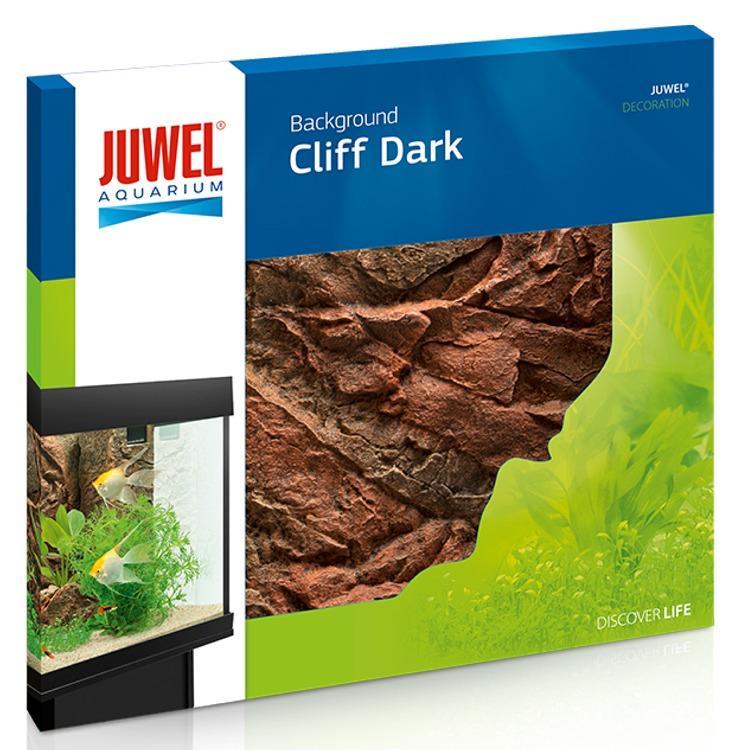 JUWEL Cliff Dark plaque de fond 3D 60 x 55 cm pour l\'habillage de la vitre arrière de votre aquarium
