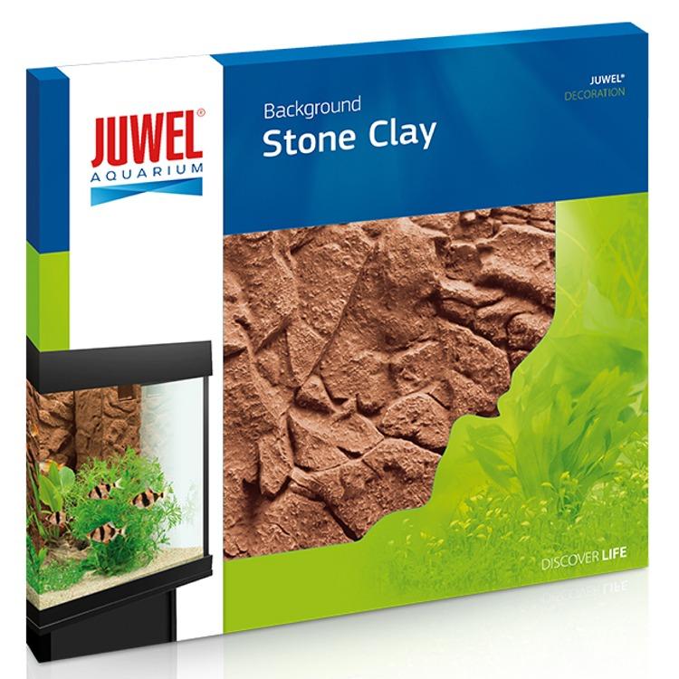 JUWEL Stone Clay plaque de fond 3D 60 x 55 cm pour l\'habillage de la vitre arrière de votre aquarium