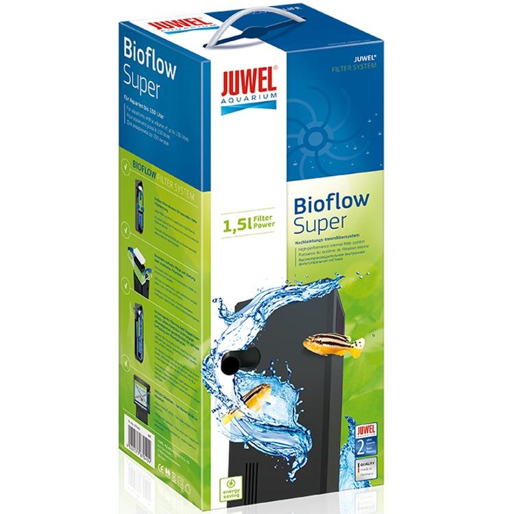 JUWEL BioFlow Super filtre biologique à décantation pour aquarium jusqu\'à 150L. Livré complet.