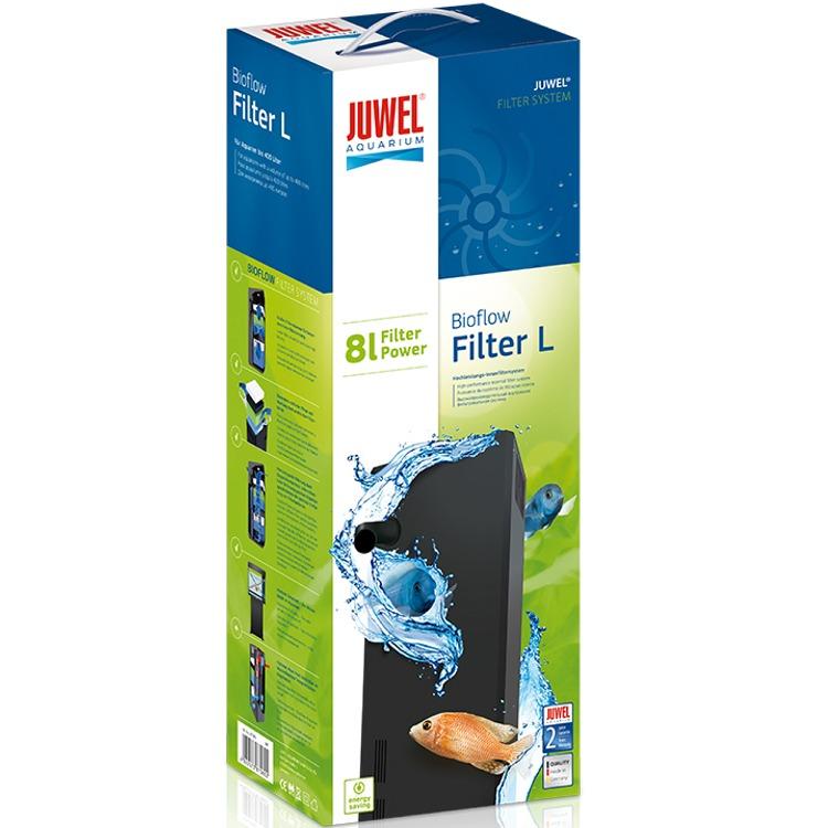 JUWEL BioFlow 6.0 filtre biologique à décantation de 6L pour aquarium jusqu\'à 450L. Livré complet.